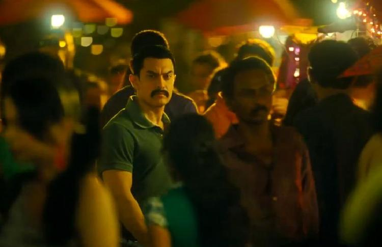 Aamir Khan A Still From The New Movie Talaash