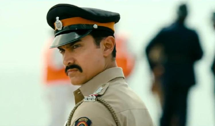 Aamir Playing The Role Of Cop In Talaash