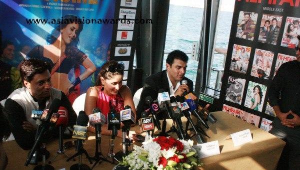 Kareena and Madhur at Heroine Press Conference in Dubai