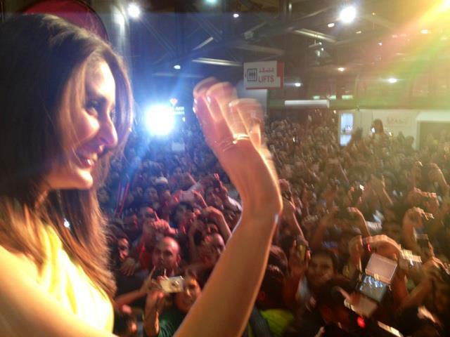 Kareena Kapoor Arrives in Dubai For Heroine Promotion