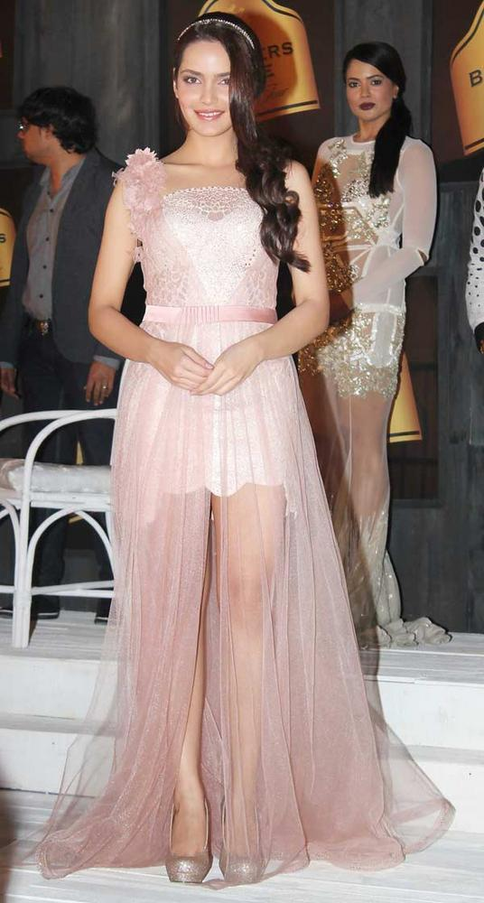 Shazahn Padamsee Looking Gorgeous at 8th Edition of Seagram's Blenders Pride Fashion Tour 2012