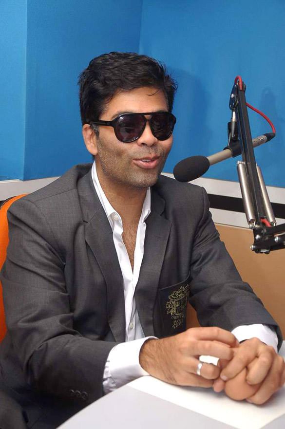 Karan Johar Promote Student Of The Year at 93.5 Red FM