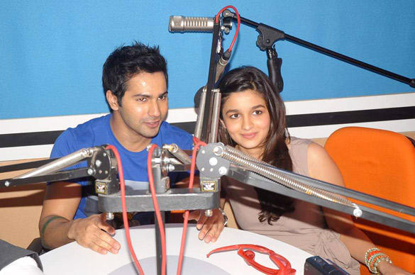 Varun and Alia Visits Red FM 93.5 For Student Of The Year Promotion