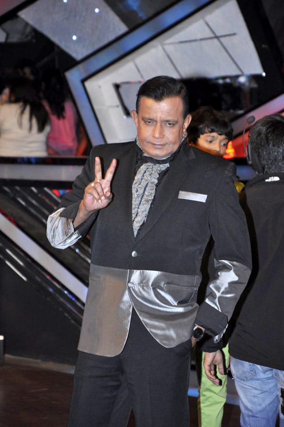 Mithun Spotted At Dance Ke Superkids Show For Barfi Promotion