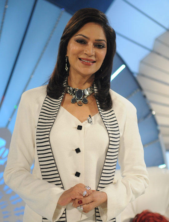 Simi Garewal As Pretty Teacher In Mera Naam Joker