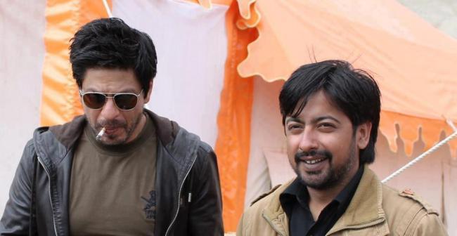 Shahrukh On The Location Of Yash Chopra Untitled Film at Ladakh