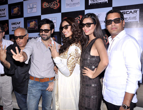 Esha,Emraan and Bipasha at Oscar Jeans Press Conference Event For Raaz 3 Promotion