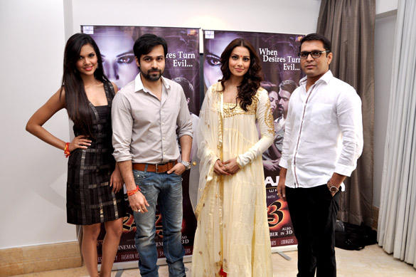 Esha,Emraan and Bipasha at Oscar Jeans Press Conference Event