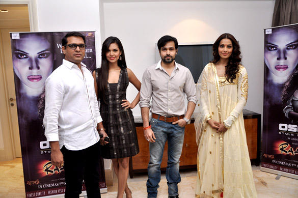 Esha,Emraan and Bipasha Promote Raaz 3 at Oscar Jeans Press Conference Event