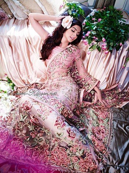 Sonam Deadly Pose Photo Shoot For Spring Summer Collection 2012