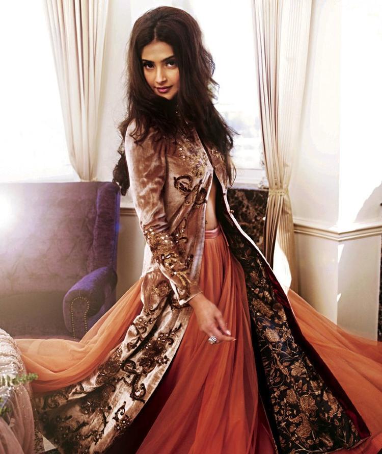 Sonam Kapoor Latest Shoot For Shehla Khan