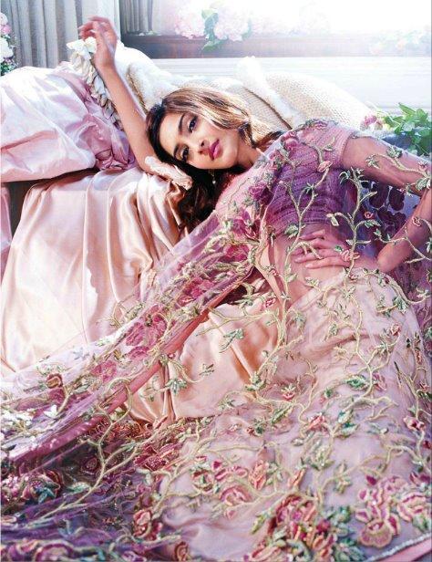 Sonam Kapoor's New Print Ads For Shehla Khan