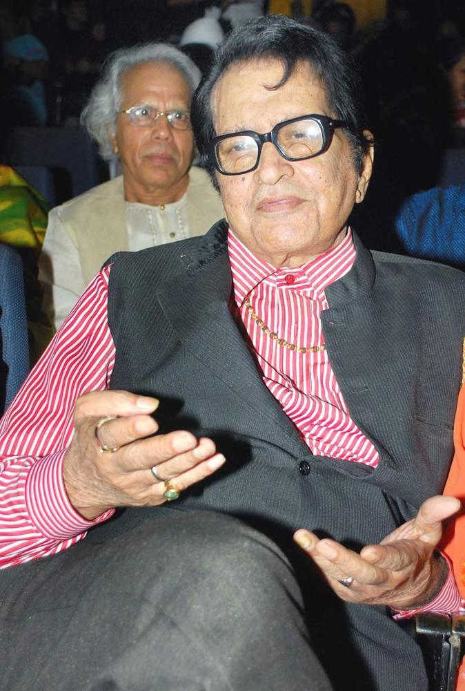Manoj Kumar at First Look Launch Of Asha Bhosles Mai