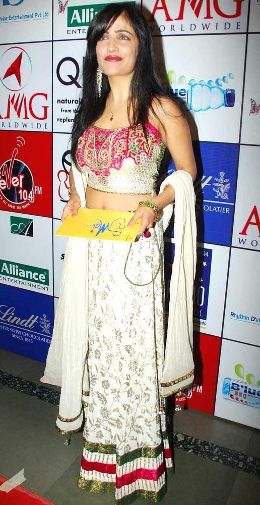 Shibani Kashyap at First Look Launch Of Asha Bhosles Mai