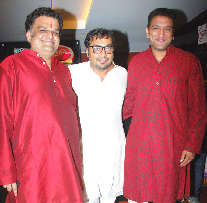 Anurag Kashyap With Others at First Look Launch Of New Movie Aiyyaa