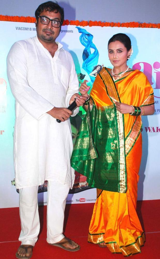 Rani and Anurag At First Look Launch Of New Movie Aiyyaa