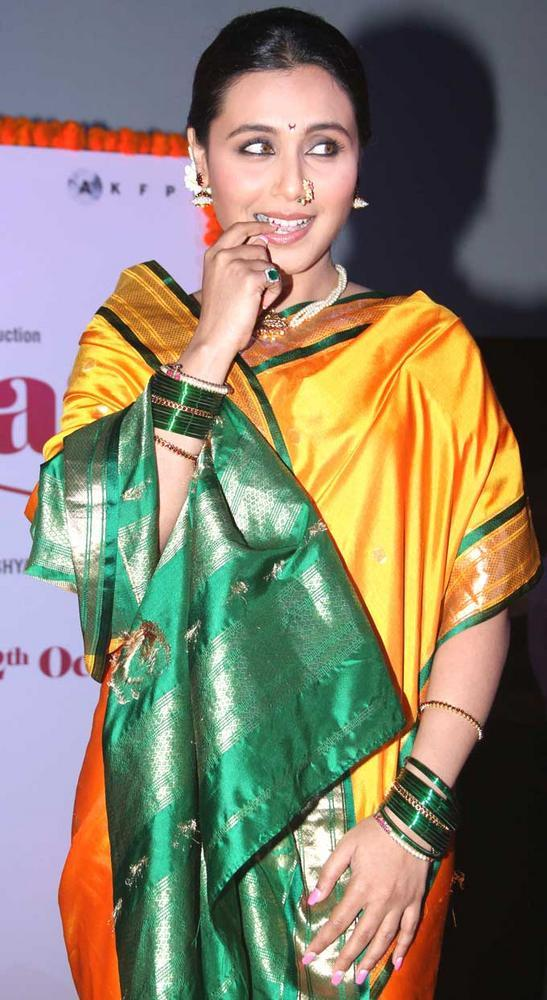 Rani Mukherjee Attends The First Look Launch Of Her Upcoming Film Aiyyaa