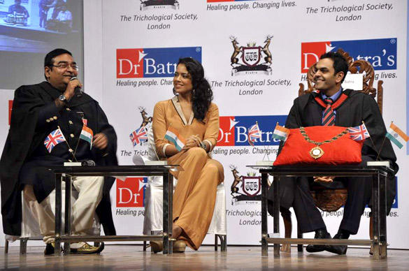 Sameera Reddy During Dr. Batra's Book Launch On Hair Care