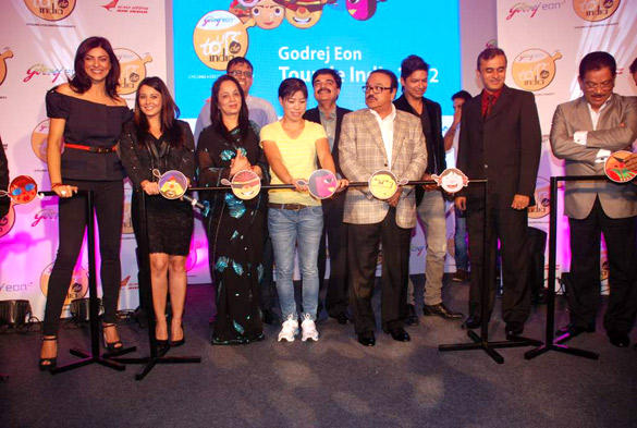 B Town Celebs at Godrej Eon's Cycling Event