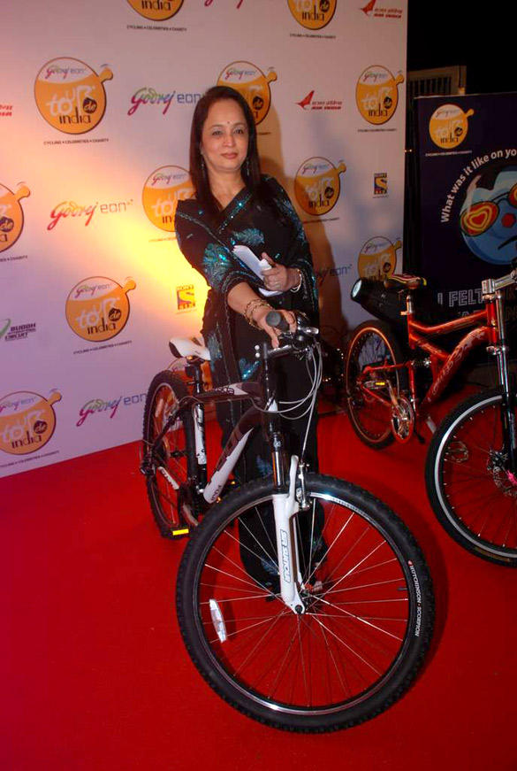 Celebs at The Launch Of Godrej Eon Tour De India Cycling Event