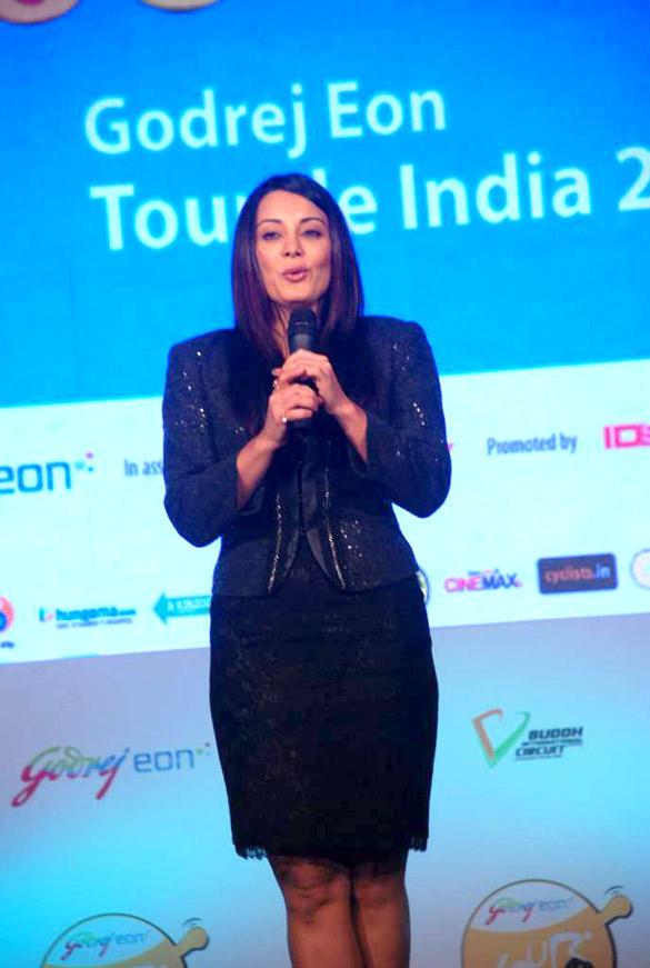 Minissha Lamba At Godrej Eon's Tour De India Cycling Event