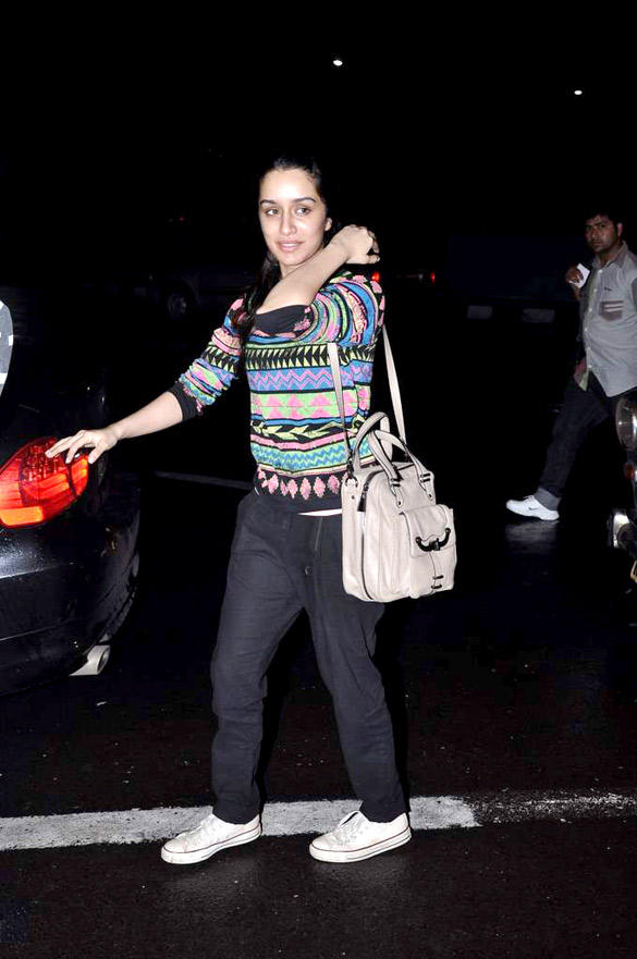 Shraddha Kapoor Was Spotted At The Airport For The Shooting Of Her New Film Aashiqui 2
