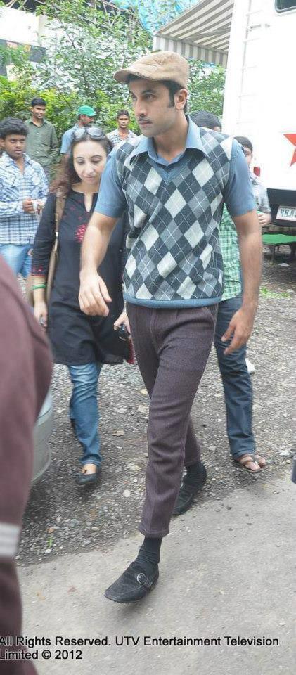 Ranbir Kapoor Promote Barfi On The Sets Of Zee TV Serials