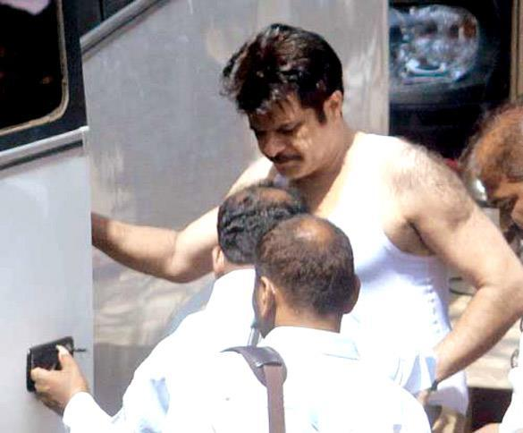Anil Kapoor Shootout At Wadala On Sets Photo
