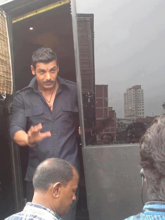 John Abraham On Location Photo Of New Movie Wadala