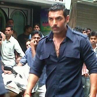 John Abraham On the Sets Of Wadala