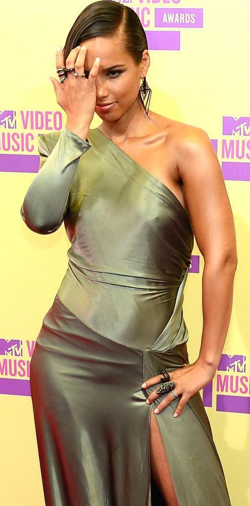 Alicia Keys at Mtv Video Awards 2012