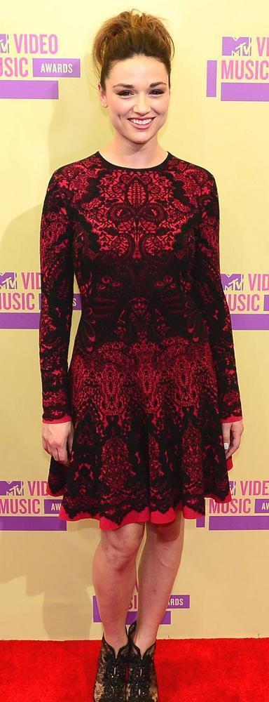 Crystal Reed at Mtv Video Music Awards 2012