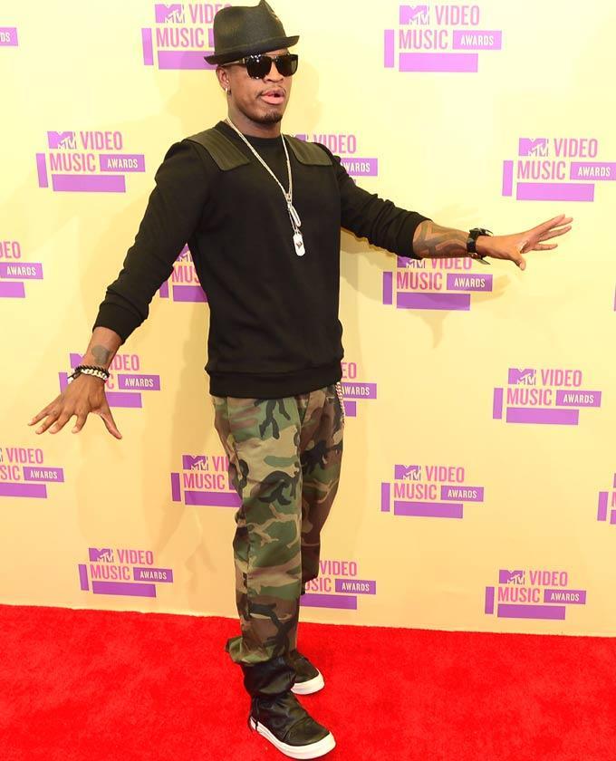 Ne-Yo At Mtv Video Music Awards 2012