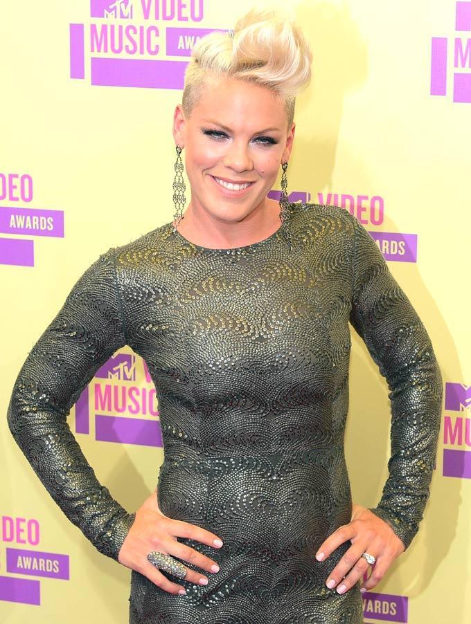 Pink at Mtv Video Awards 2012