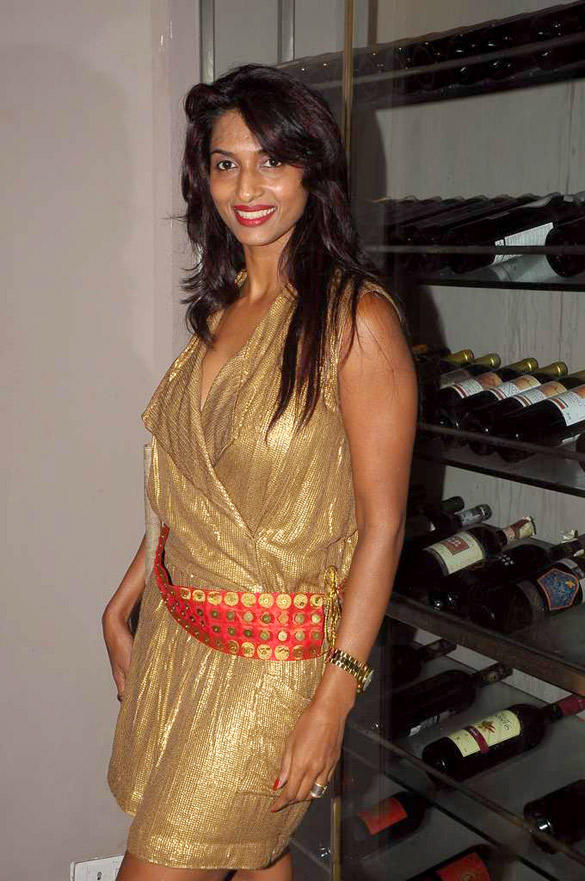 Sandhya Shetty Snapped at Mausami Badra's Birthday Bash