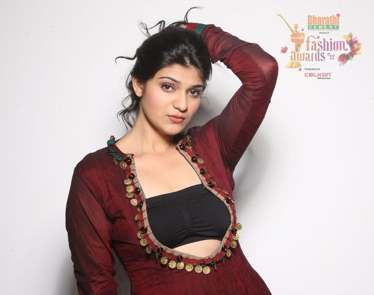 Siya Gautham in Southspin Fashion Awards 2012 Calendar