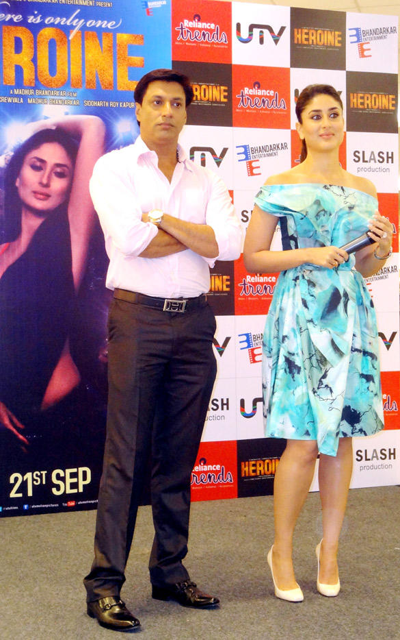 Stunning Kareena Unveil Of Main Heroine Hoon Song Launch Event With Madhur
