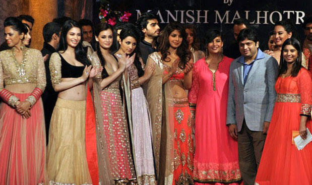 Bollywood Hot Celebrities at Mijwan Fashion Show