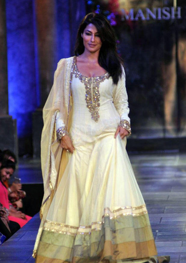 Chitrangada Singh On The Ramp at Mijwan Hot Fashion Show