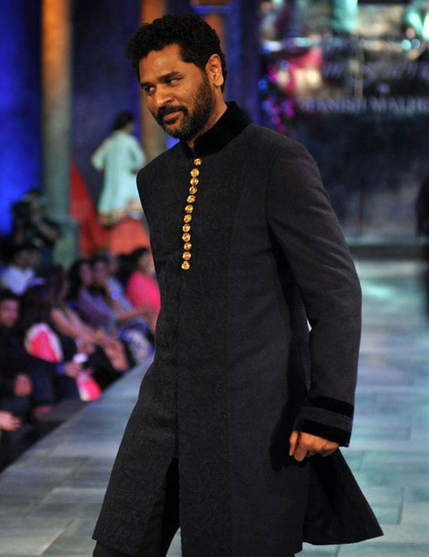 Prabhu Deva Walks The Ramp at Mijwan Fashion Show 2012