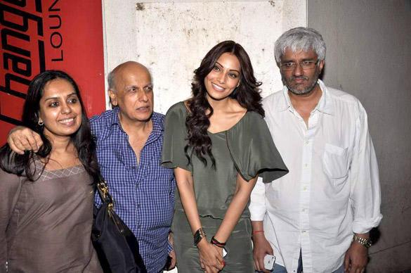 Bipasha,Vikram,Mahesh and Shagufta at The Screening Of Raaz 3