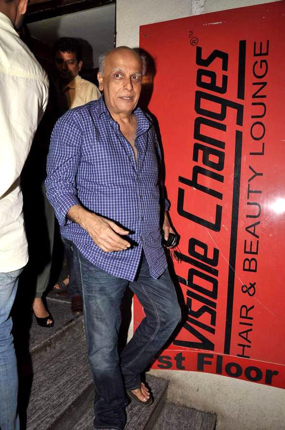 Mahesh Bhatt Spotted at The Screening Of Raaz 3