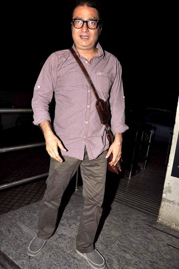 Vinay Pathak at The Screening Of Raaz 3