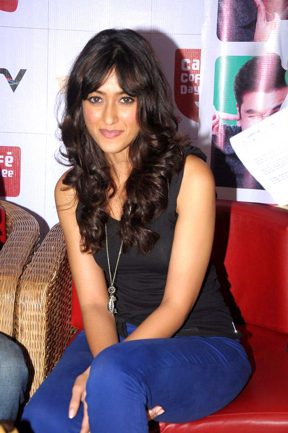 Ileana D'Cruz at Cafe Coffee Day For Barfi Promotion