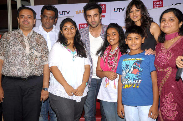 Ranbir Kapoor and Ileana Promote Barfi at Cafe Coffee Day