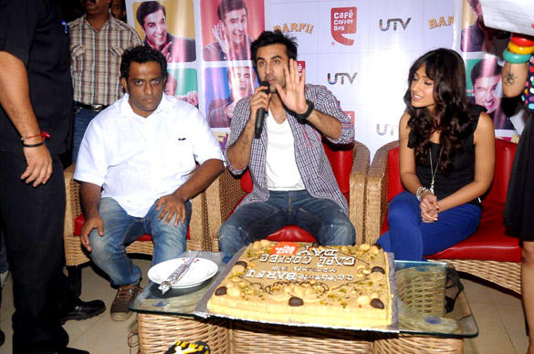 Ranbir Kapoor Speaks During Barfi Promotion at Cafe Coffee Day