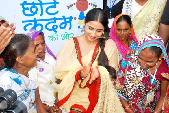 Nihar Naturals Launches Its 'Chhotte Kadam Pragati Ki Aur' Campaign With Vidya Balan