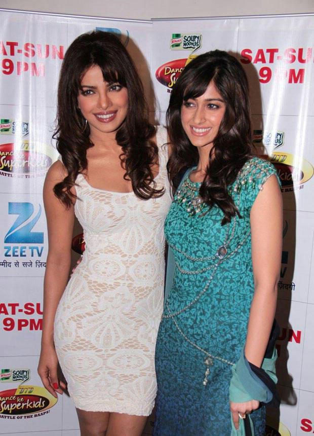 Ileana and Priyanka at DID Dance Ke Superkids Show For Barfi Promotion