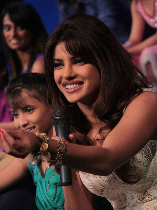 Priyanka Chopra at DID Dance Ke Superkids Show For Barfi Promotion