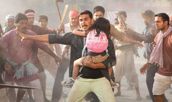 Akshay Kumar A Still From Movie Rowdy Rathore